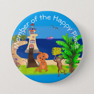 Happy's Lighthouse by The Happy Juul Company Pinback Button