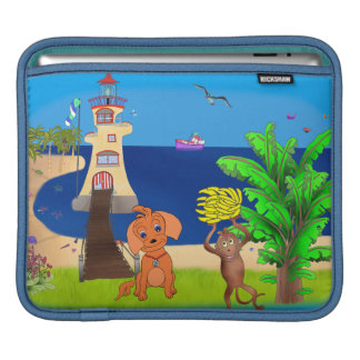 Happy's Lighthouse by The Happy Juul Company Sleeve For iPads