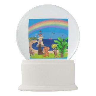 Happy's Lighthouse by The Happy Juul Company Snow Globe