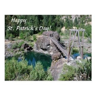 HappySt. Patrick's Day Postcard