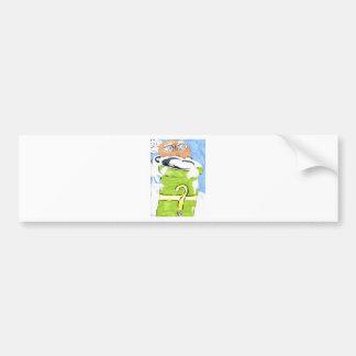 happythought bumper sticker