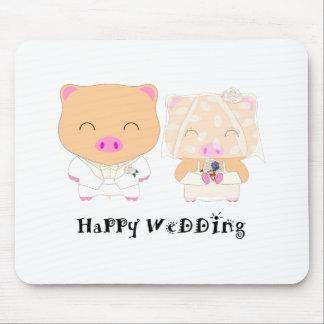 HappyWedding Mouse Pad