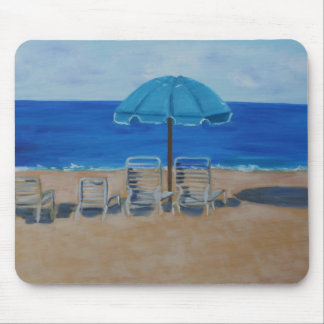 """Hapuna Beach Hawaii"" Mouse Pad"