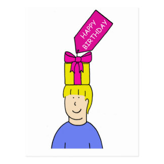 Hapy Birthday Hairstylist Postcard
