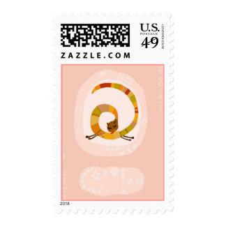 hapy cat stamp