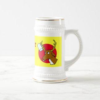 Haqng up your beer mug! beer stein