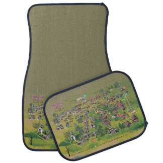 Har-Ber Village Museum map car mats