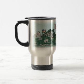 Har-Ber Village scene Mug