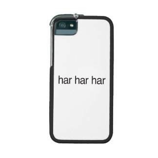 haR haR haR iPhone 5 Cases