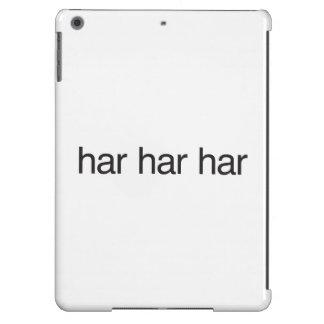 haR haR haR iPad Air Cover