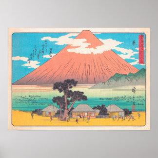 Hara, del hokaido de las estaciones de la serie ci póster