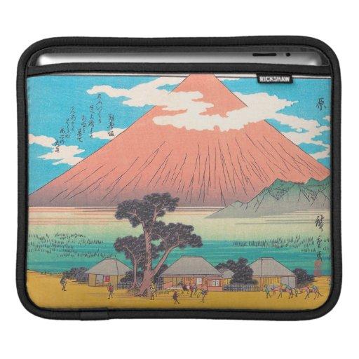 Hara, from the series Fifty-three Stations hokaido iPad Sleeves