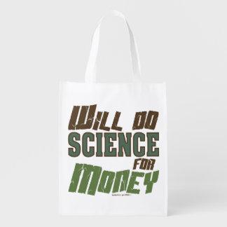 Hará la ciencia para el dinero bolsas para la compra