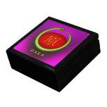 Hara Monogram Snake Trinket Boxes