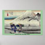 Hara por Ando, Hiroshige Ukiyoe Poster