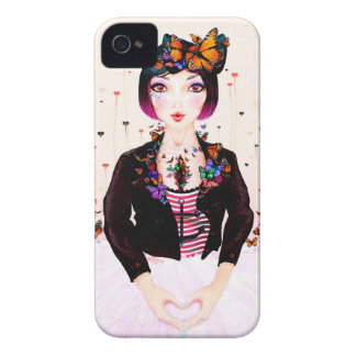 """Harajuku Ballerina"" iPhone 4/4S CaseMate Case"