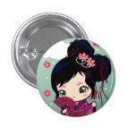 Harajuku Girl Ayaka 1 Inch Round Button