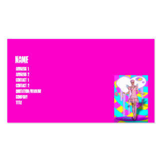 Harajuku Girl Lolita Goth Fantasy Double-Sided Standard Business Cards (Pack Of 100)