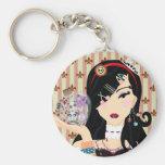 Harajuku Girl Mayumi Keychain