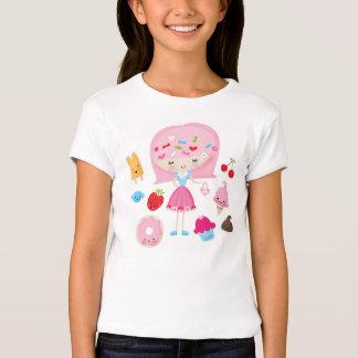 Harajuku Kawaii girl kids tshirt