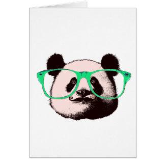 Harajuku Pandas fashion Cute Panda Card