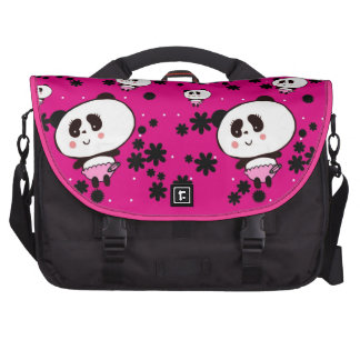 Harajuku Pandas fashion Cute Panda Laptop Computer Bag