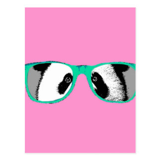 Harajuku Pandas fashion Cute Panda Postcard