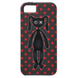 Harajuku Polka Dot Bunny in Red and Black iPhone 5 Cover