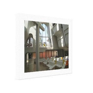 Harajuku Protestant Church Tokyo Japan Gallery Wrapped Canvas
