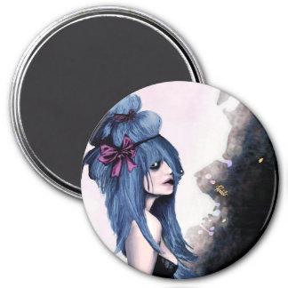 Harajuku style 3 inch round magnet