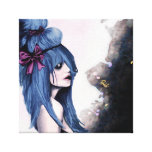 Harajuku style stretched canvas prints