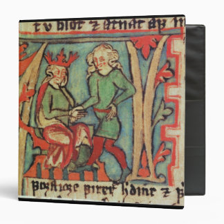 Harald I Fairhair greeting Guthrum 'Flateybok' 3 Ring Binder