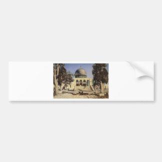 Haram Ash-Sharif - the square where the ancient Car Bumper Sticker