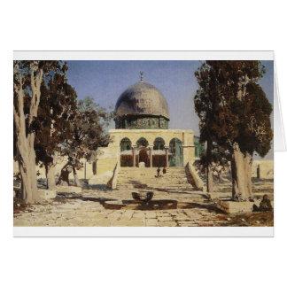 Haram Ash-Sharif - the square where the ancient Card