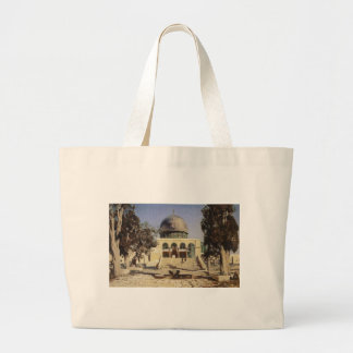 Haram Ash-Sharif - the square where the ancient Large Tote Bag