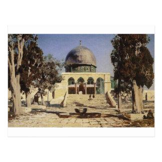 Haram Ash-Sharif - the square where the ancient Postcard