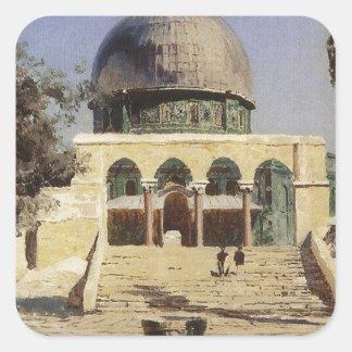 Haram Ash-Sharif - the square where the ancient Square Sticker