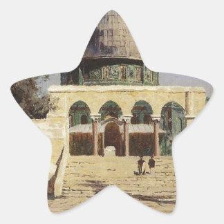 Haram Ash-Sharif - the square where the ancient Star Sticker