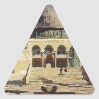 Haram Ash-Sharif - the square where the ancient Triangle Sticker