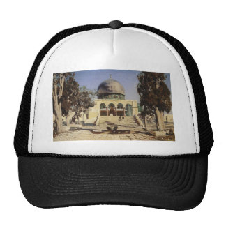 Haram Ash-Sharif - the square where the ancient Trucker Hat