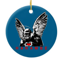 Harambe Ceramic Ornament