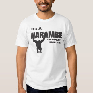 Harambe-Gibbon Monkey Shirt