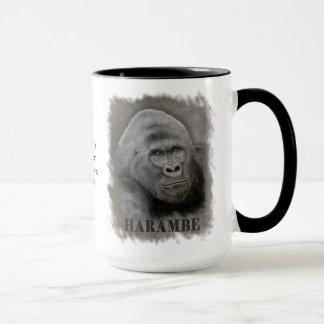 Harambe (Graphite Drawing) Mug
