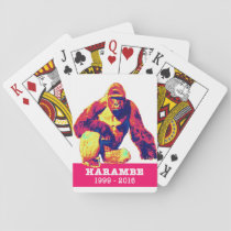 Harambe Playing Cards