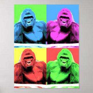 Harambe Pop Art Poster