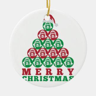 Harambe Tree Ceramic Ornament