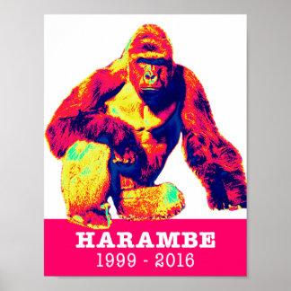 Harambe Tribute Poster