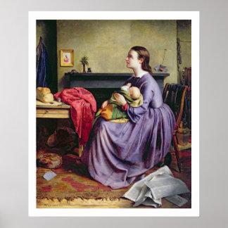 Harán al señor, Thy, 1855 (el aceite en lona) Póster