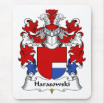 Harasowski Family Crest Mouse Pad