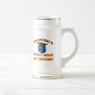 Harass Chipmunks Beer Stein